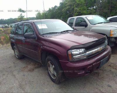 Salvage Purple 2007 Chevrolet Trailblazer
