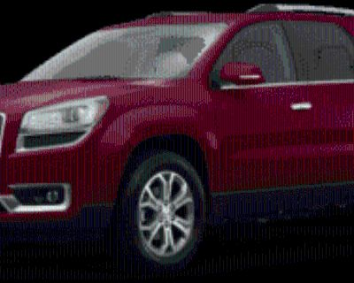 2016 GMC Acadia SLT with SLT-1 FWD