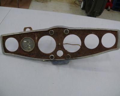 1930's 1939 Chris Craft 6 Gauge Dash Panel 1932 Ford Scta Wooden Boat Rare