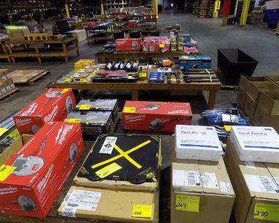 Industrial & Consumer Tool/Equipment Auction