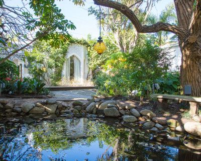 Majestic Moroccan Secret Garden Oasis, Venice, CA