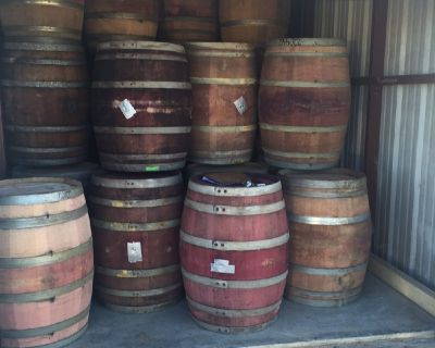 Napa Valley Wine Barrels