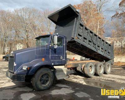 1994 Kenworth T450 Tri-Axle Dump Truck Cummins L10 8LL
