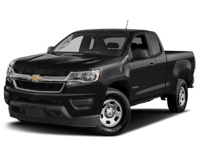 Pre-Owned 2018 Chevrolet Colorado Work Truck RWD Extended Cab Pickup
