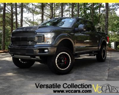 2018 Ford F-150 SHELBY King Ranch 4WD SuperCrew Tech Navigation BS