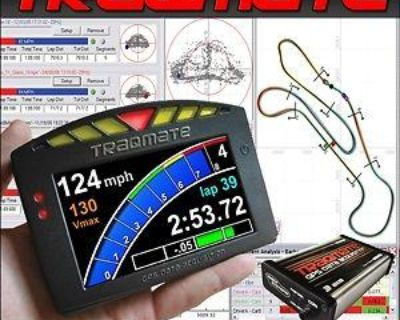 Traqmate Trackmate Traqdash Complete Racing Data Acquisition -authorized Dealer