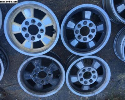 Riviera 15 by 5.5 wheels set of four Bug Ghia t3
