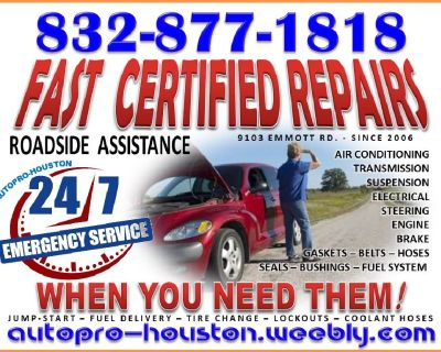 Emergency Assistance Available from AutoPRO-Houston