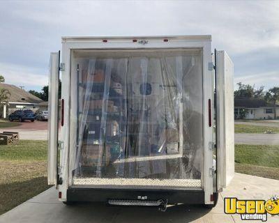 Cynergy 7' x 12' Refrigerated Trailer / Cold Storage Transport Trailer