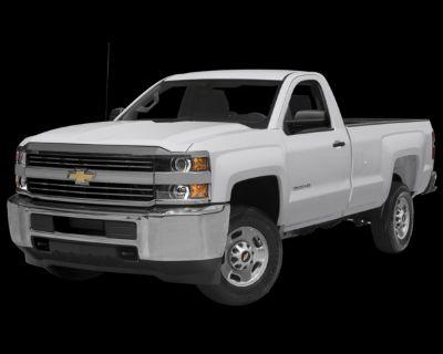 Pre-Owned 2015 Chevrolet Silverado 2500HD Work Truck RWD Long Bed