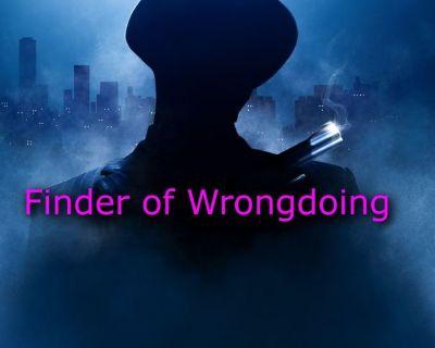 Crime Thriller Novel - Henry Samson, Finder of Wrongdoing