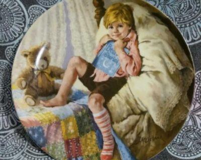 Vintage Diddle Diddle Dumpling Plate