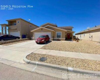 5963 Redstone Rim Dr, El Paso, TX 79934 4 Bedroom House