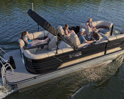2022 SunCatcher ELITE 322 RC Pontoon Boats Kenner, LA