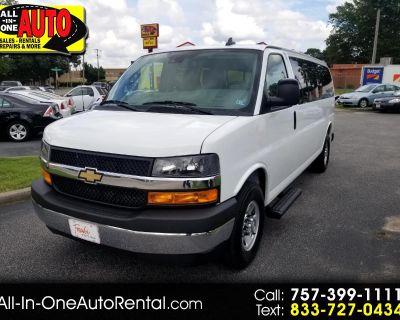 "2019 Chevrolet Express Passenger RWD 3500 155"" LT"