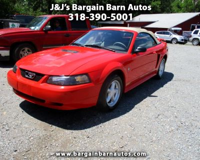 Used 2001 Ford Mustang Deluxe Convertible
