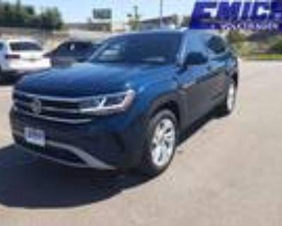 2021 Volkswagen Atlas Blue
