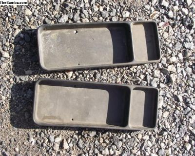 Porsche 914 Center Seat Package Tray With Lid