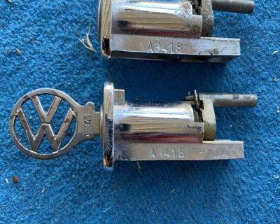 Original matched type 3 door locks w/OG key