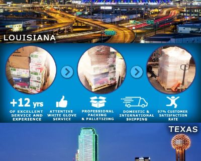 Packing Service, Inc. Shrink Wrap Palletizing, Industrial Crates and Packing Boxes - Monroe, Louisia