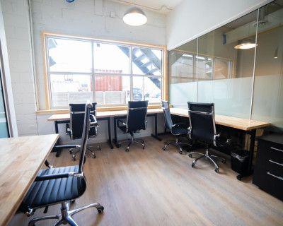Spacious 6 Person Creative Work Space, Etobicoke