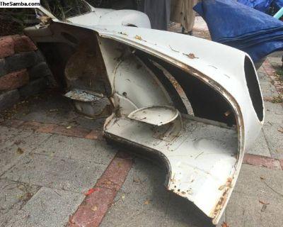 Karmann Ghia Rear Fender sheet metal