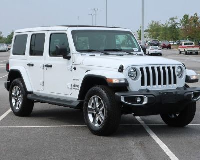 Pre-Owned 2020 Jeep Wrangler Unlimited Sahara 4WD Convertible