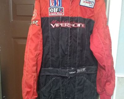 Rare stand 21 authentic American viper racing team suit