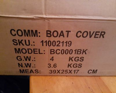 Brand new boat cover (14-16 ft)