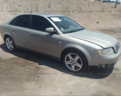 Salvage Gold 2004 Audi A4