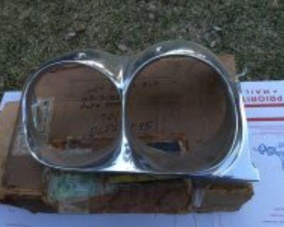 NOS 1961 F-85 headlight bezel rim olds