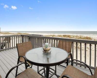 Sea Bell-Gulf Front House on W. Beach, 4 /3 Bath With Pool, Sleeps 12 - Gulf Shores