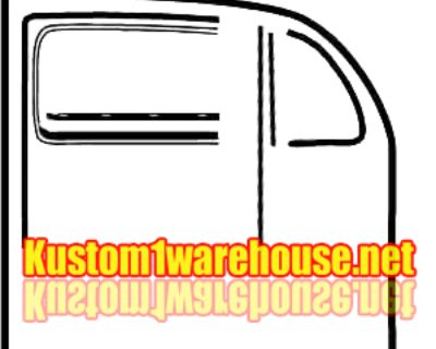 VW Bug Door Seal Restoration Kits