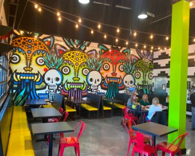 Trendy Colorful Taco Spot In The Heart Of Downtown Marietta With Amazing Patio, Marietta, GA