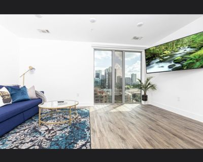 Downtown Blue Hideaway with luxury city views!! - Downtown Atlanta