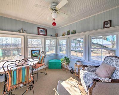 Cozy Augusta Home w/ Porch-Walk to Katy Trail - Augusta