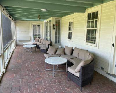 Patio Space at Historic North Shore Estate, South Hamilton, MA