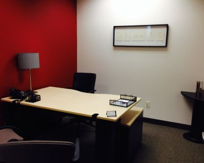 Private Office, Fully Furnished!