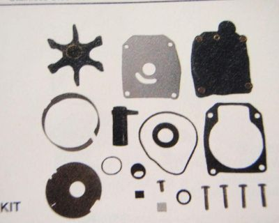 Water Pump Kit 18-3389 Fits Johnson Evinrude Outboard Replaces 436957 Omc Engine