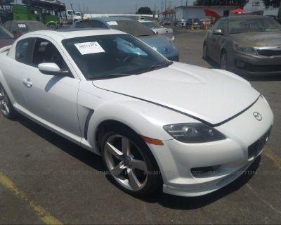 Salvage White 2006 Mazda Rx-8