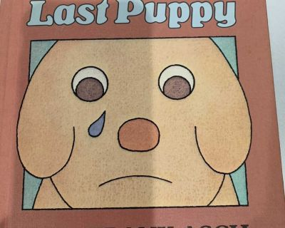 THE LAST PUPPY HARDCOVER BOOK. CP