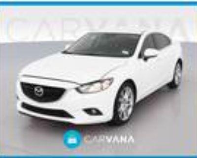 2017 Mazda MAZDA 6 White, 16K miles