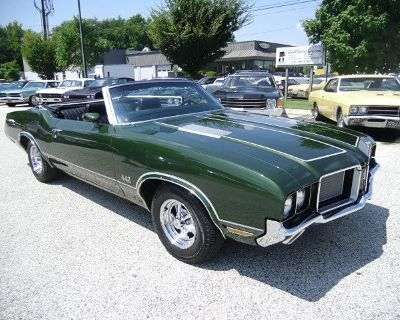 1972 Oldsmobile 442 442 Convertable Just Sold!!!