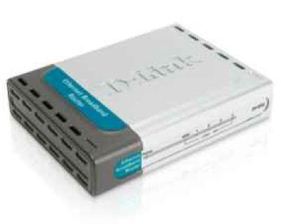 Broadband Router, 4-Port, DI-604
