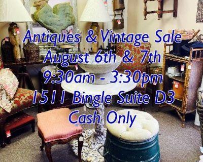 Antiques & Vintage Sale