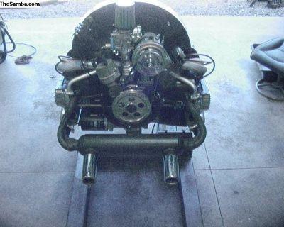 New Zero Mile 1600cc Engine Turnkey with Heat