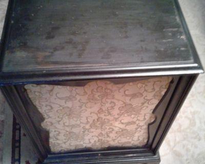 Vintage Columbia Kilosphere Record Player & Speaker Cabinet