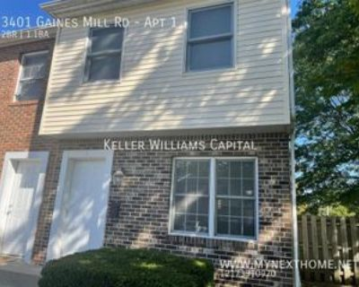 3401 Gaines Mill Rd #1, Springfield, IL 62704 2 Bedroom Apartment