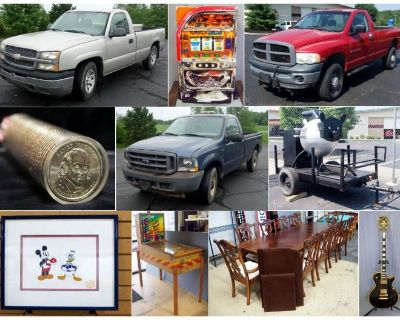 Fun On The Run Combined Estate Auction