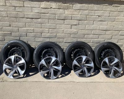 California - 16x7 OEM LX Wheels (Steelies) and Hankook tires